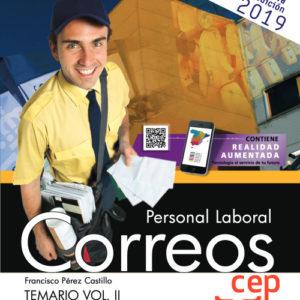 Temario Oposiciones Correos Vol. II. Personal Laboral 2019