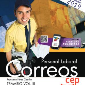 Temario Oposiciones Correos Vol. III. Personal Laboral 2019